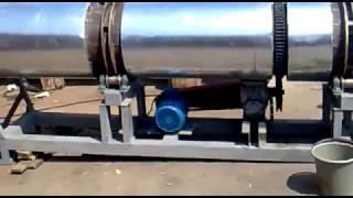 Сушка песка и других сыпучих материалов(Сушка песка и других сыпучих материалов , с дизельной горелкой ( газовой), 2012-08-09T20:07:14.000Z)