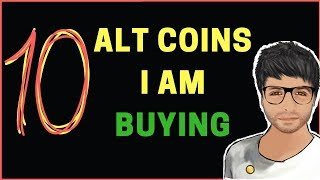 TOP 10 ALT COINS WHICH I AM BUYING IN THIS MARKET - Hindi / Urdu