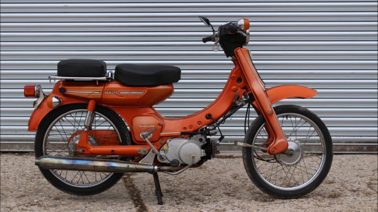moto yamaha v 50