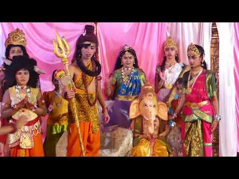 Ganesha patri puja- supporting green India    Flotilla Kids Special Drama    Harshini Media