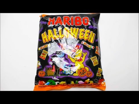 Haribo Halloween German Candy Collection