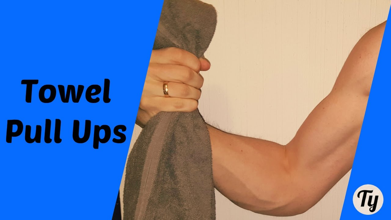 How to Get Bigger Forearms TOWEL PULL UPS  YouTube