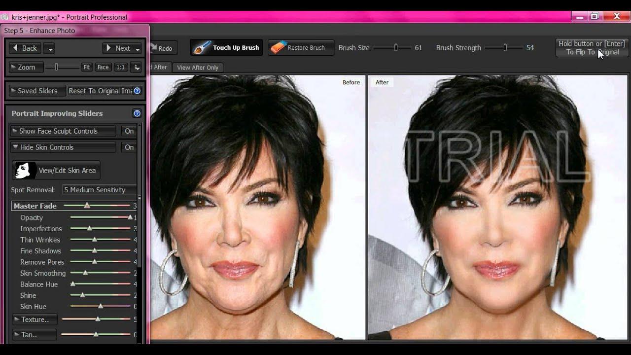 Editing Kris Jenner (Kardashian) - YouTube