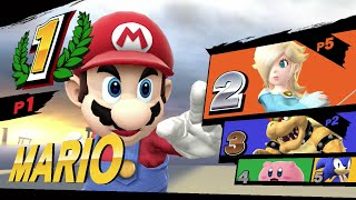 Super Smash Bros. Wii U - Initial Longplay Gameplay