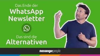 Messenger Marketing: Wie geht's weiter nach dem Ende der WhatsApp Newsletter? | AFBMC 2019