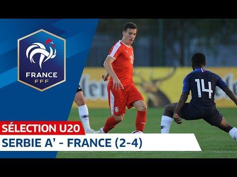 U20 : Serbie A' - France (2-4), les buts I FFF 2018