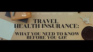 Travel Health Insurance During the Pandemic  What to know before you go with Arnitha Webb