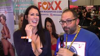 The Man Cave interviews Reagan Foxx