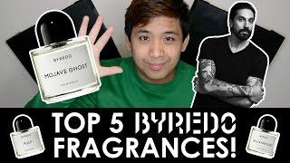 TOP 5 BYREDO FRAGRANCES! | CascadeScents