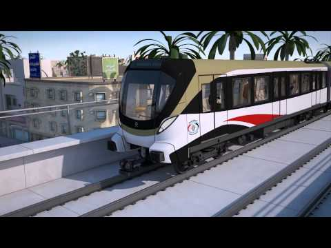 Bagdad Elevated Train