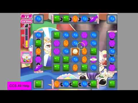 Candy Crush Saga Level 1373 NO BOOSTERS
