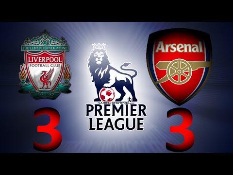 Ливерпуль - Арсенал 3:3 Фирмино, Рэмси, Фирмино, Жиру, Аллен Liverpool Vs Arsenal