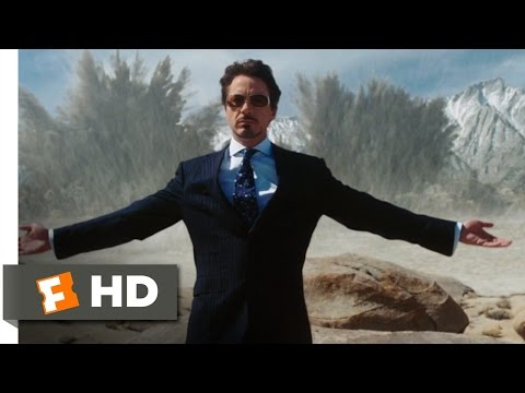 Iron Man (2/9) Movie CLIP - The Jericho (2008) HD