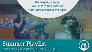"""""""Don't Stop Believin'"""" by Journey, Performed by Anna Layer"""