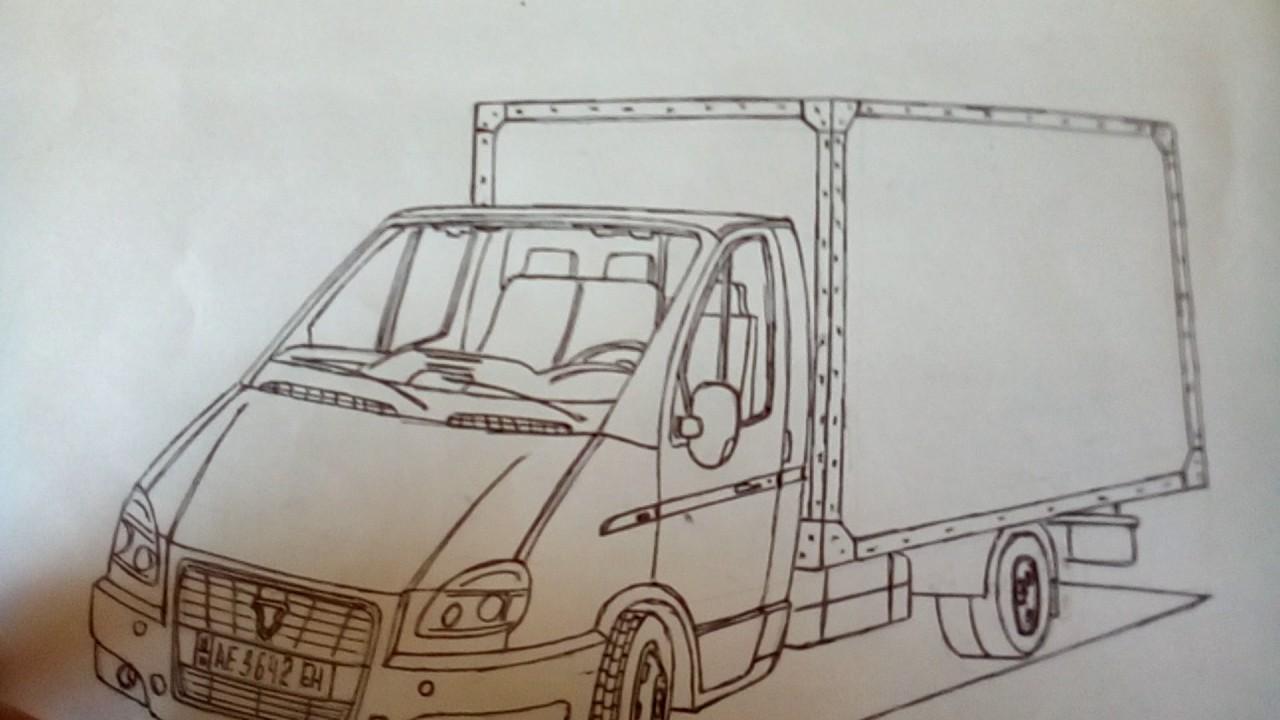 Рисунок газели карандашом