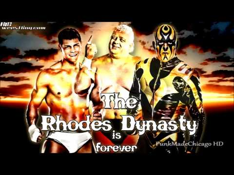 "WWE: Cody Rhodes and Goldust Theme Song 2014 ''Gold and Smoke"" [HD]"