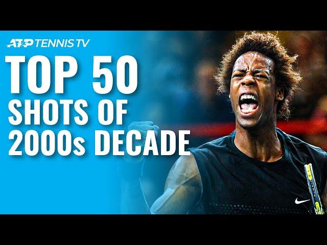 TOP 50 ATP SHOTS & RALLIES OF 2000s DECADE!