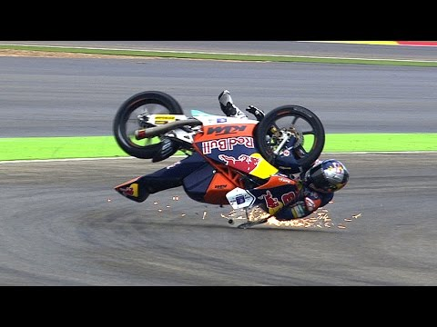 Moto3™ 2014 Biggest crashes