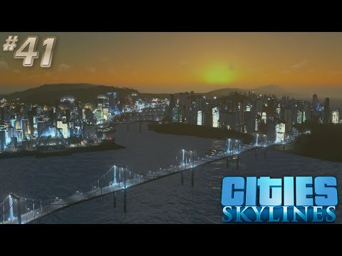 [41] Cities Skylines Snowfall | Core Almost Complete! (Let's Play)