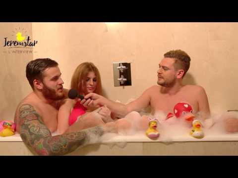 Charles des Ch'tis bientôt papa dans le bain de Jeremstar - INTERVIEW