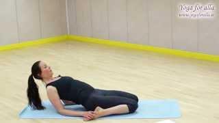 Yoga för alla - Teknik - Liggande hjälte