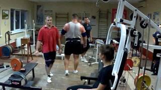 Прокачка мелких мышц спины))