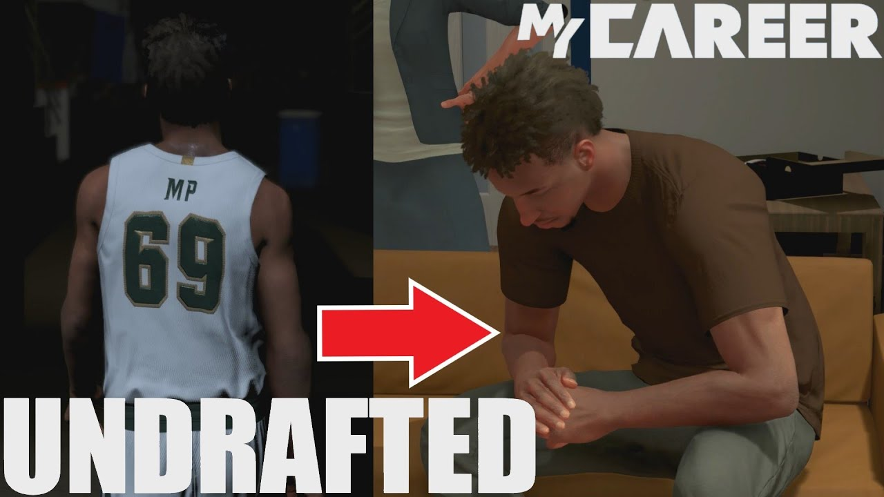 Can You Go UNDRAFTED in NBA 2K22 My Career?!