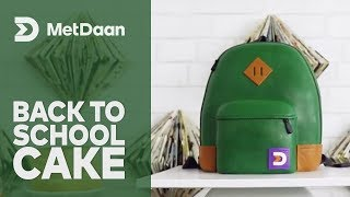 Cakes for a Cause with MetDaan x Koalipops | Celebrate back to school with this amazing cake!