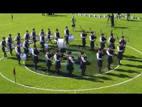 The Scots College - 2016 Australian National Pipe Band Championships - Juvenile Marches