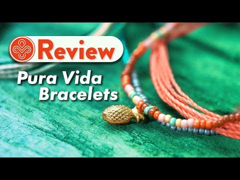 Pura Vida Bracelets Review And Unboxing