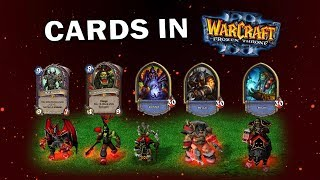 Hearthstone Cards and Heroes in Warcraft 3