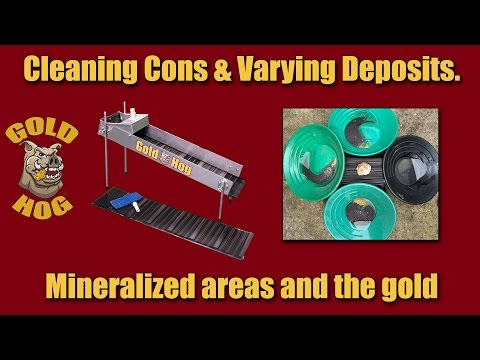 Cleaning Gold Concentrates - Varying Mineralization