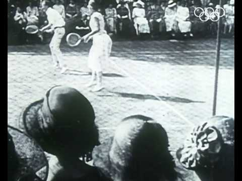 Tennis Mixed Doubles - Antwerp 1920 Olympics