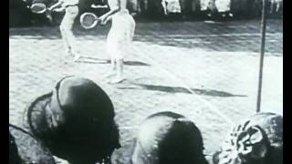 Tennis Mixed Doubles - Antwerp 1920 Olympics
