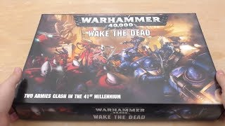 Wake The Dead   Unboxing (wh40k)