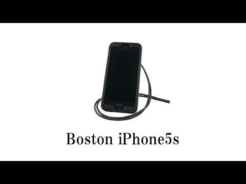 PIPI STYLE iPhone5s Boston Neck Strap Case