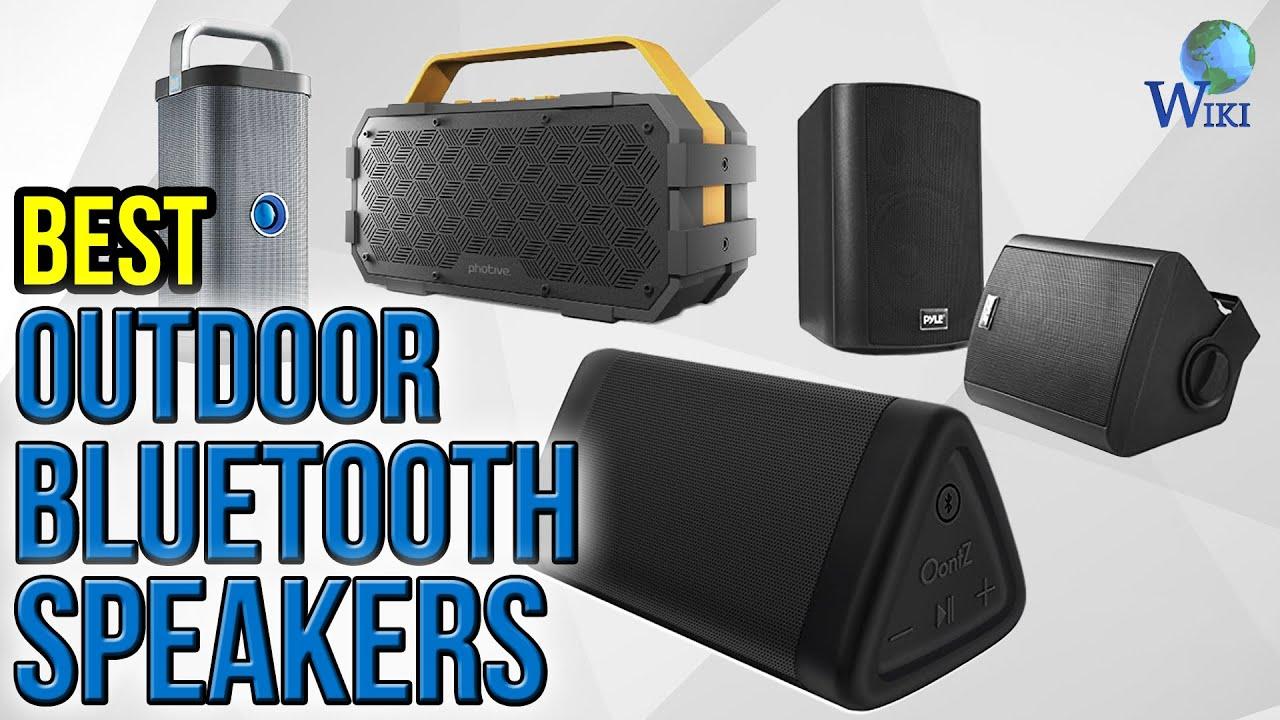 10 Best Outdoor Bluetooth Speakers 2017 - YouTube