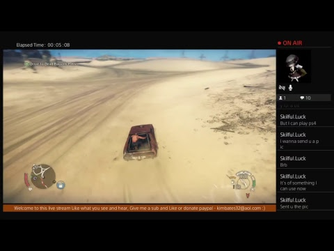 Girl Gamer - MadMax - Live with iTz_FanaTic- via PS4 Broadcast