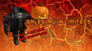ROBLOX Handel mit Traumhüte: HEADLESS HORSEMAN RUINED LIMITEDS!!! #6