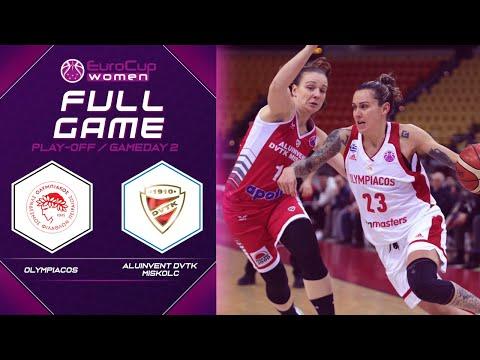 Olympiacos v Aluinvent DVTK Miskolc - Full Game - EuroCup Women 2019-20