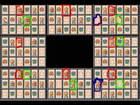 super mario bros 3 card game solutions