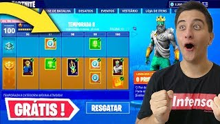 * LEAKED * How YOU can pick up Skins for free at Fortnite Season 8..!