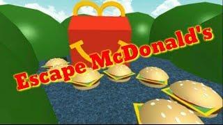 Roblox: Escape MacDonald's