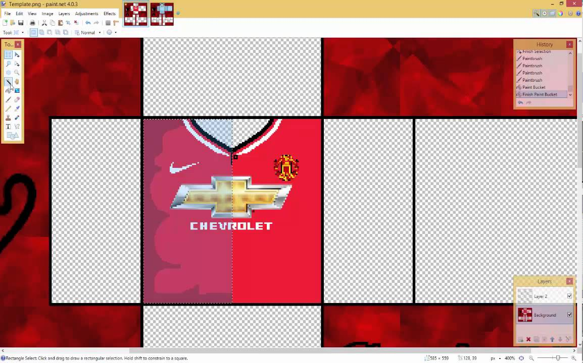 making a roblox soccer jersey