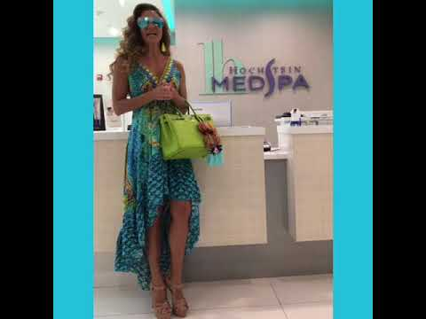 JENNIFER NICOLE LEE's Beauty Day At Hochstein MEDSPA