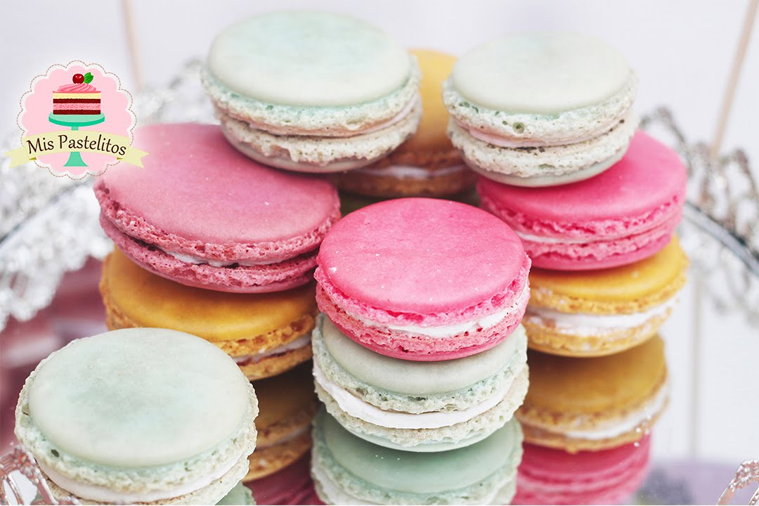 Como hacer macarons mis pastelitos youtube - Como se hacen crepes dulces ...