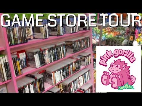 Pink Gorilla In Seattle U-District Location - Game Store Tour