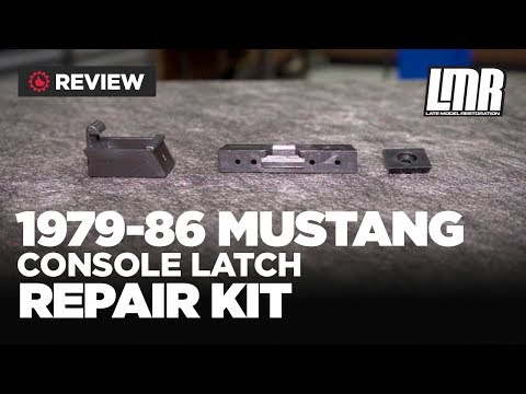 1979-1986 Mustang 5.0Resto Center Console Latch Kit - Review