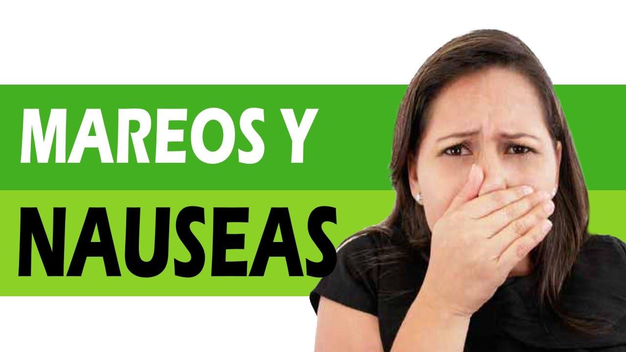 Remedios caseros para los mareos y nauseas - YouTube