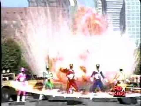 Brad Everett Young on 'Power Rangers'